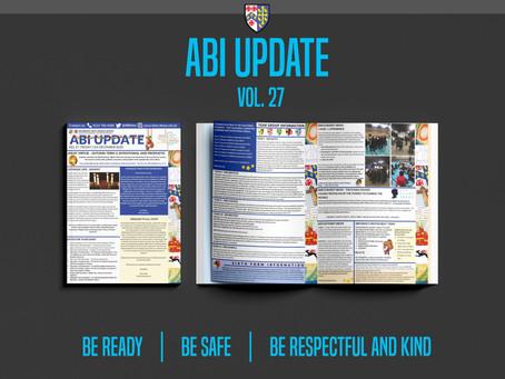 ABI Update Vol.27