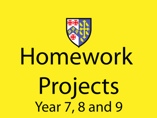 KS3 Homework Projects now on website