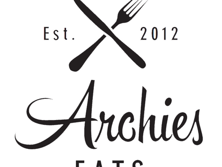 Archies Eats - Our canteen menu is now online!