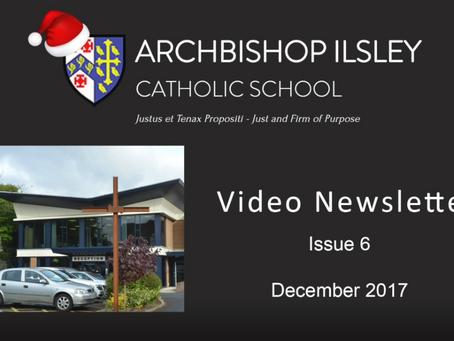 Christmas Newsletter 2017