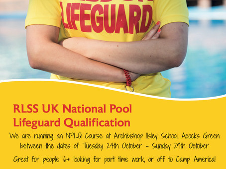 NPLQ Lifeguard Course - Learn to be a Lifeguard!
