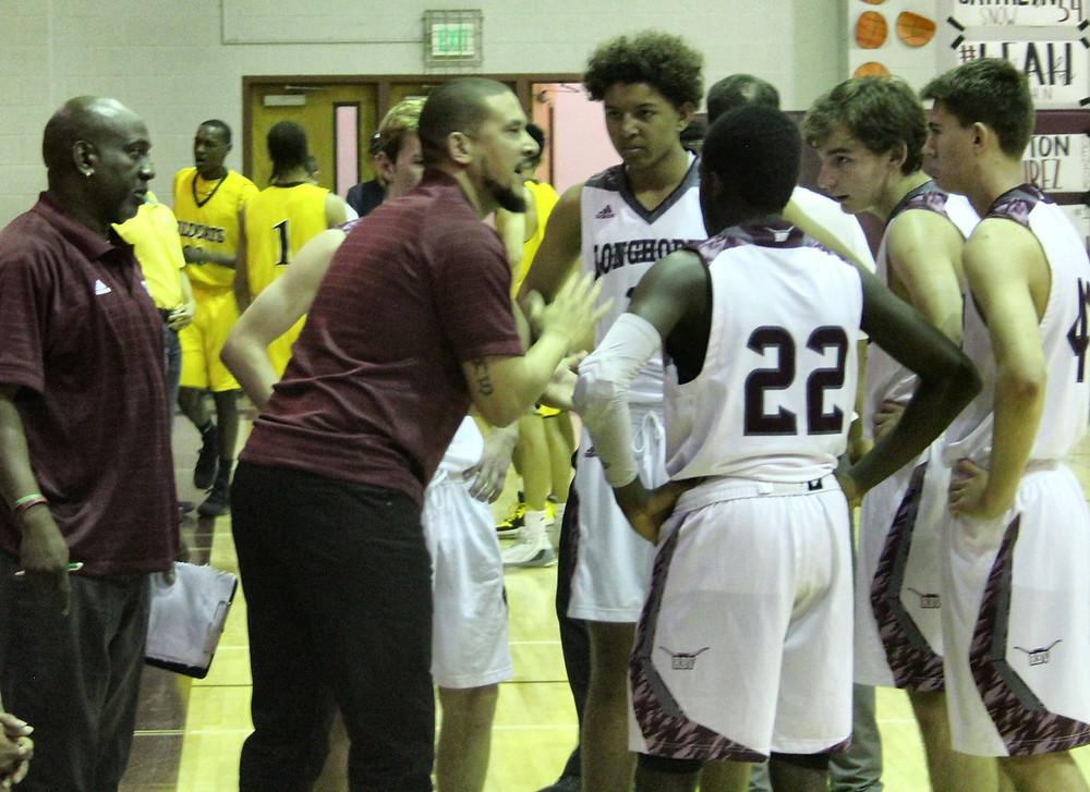 RBV Head Coach Aaron Abrams