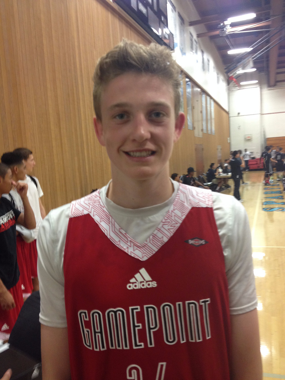 2016 Del Norte/ Gamepoint W Conner Nelson impressed at SD Spring Showcase