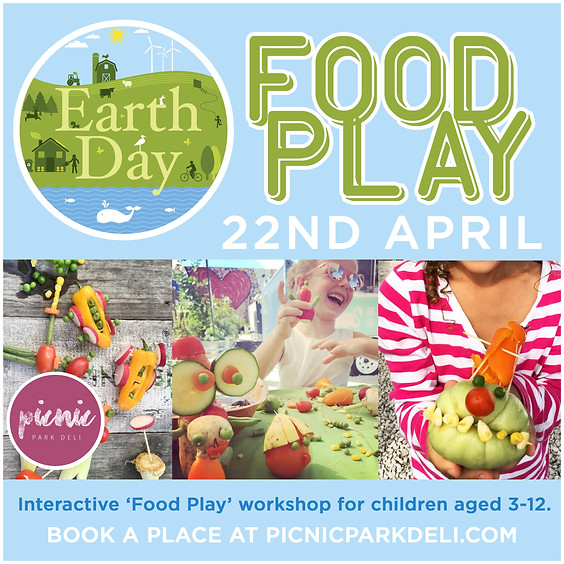 Earth Day 2018 - Food Play for Kids!