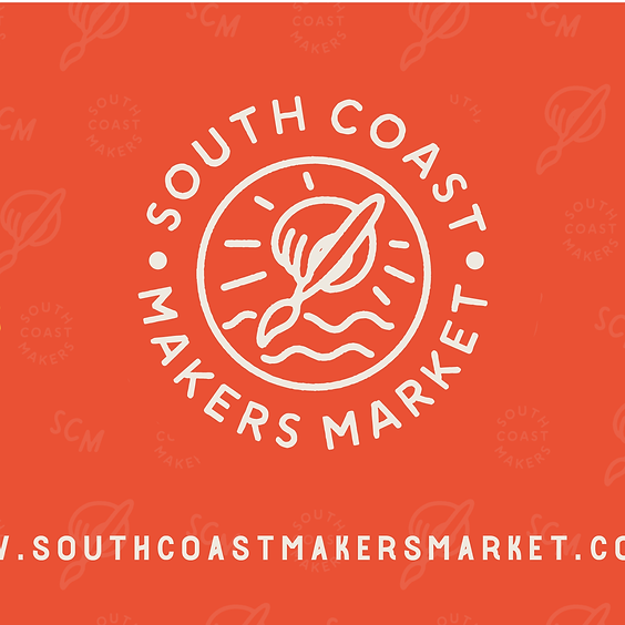 South Coast Makers Market // Sept 28 + 29 // Arts by the Sea