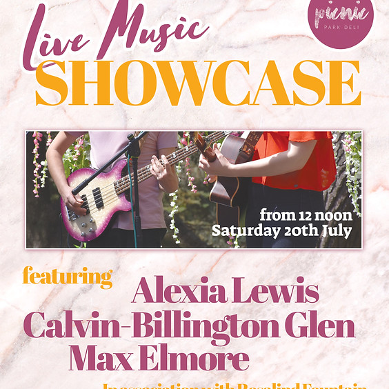 Live Music: Showcase Afternoon