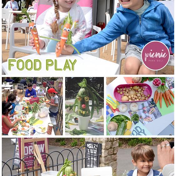 Free Activity: FOOD PLAY WORKSHOP