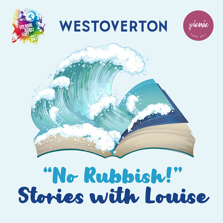 """Free Storytime: """" No Rubbish """" Stories with Louise"""