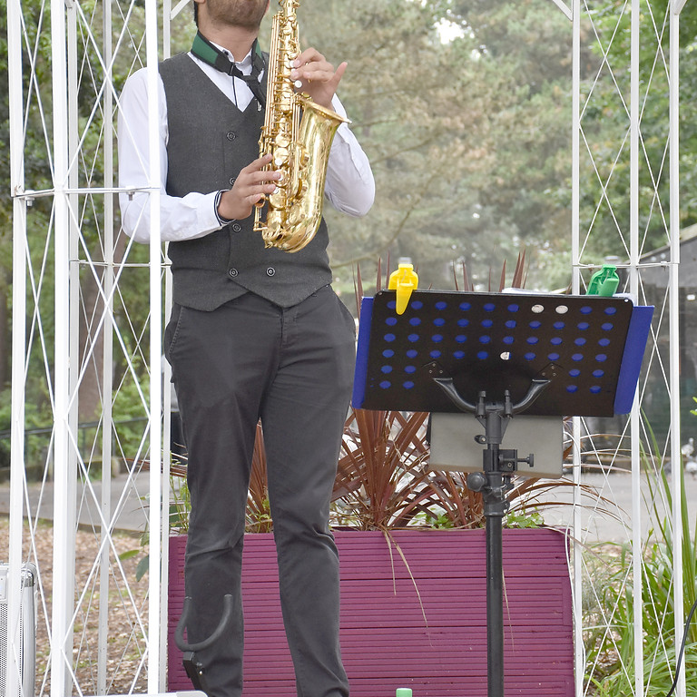 Live Music: Alex Rimell Saxophonist