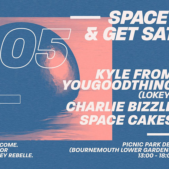 Space Cakes & Get Satisfied Presents: Bank Holiday Warm Up Party