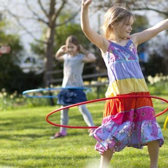 Free Hula Hooping for Kids