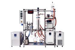hybrid molecular distillation