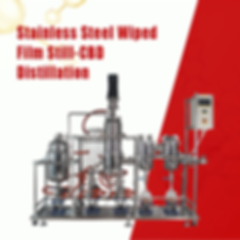 stainless steel short path distillation