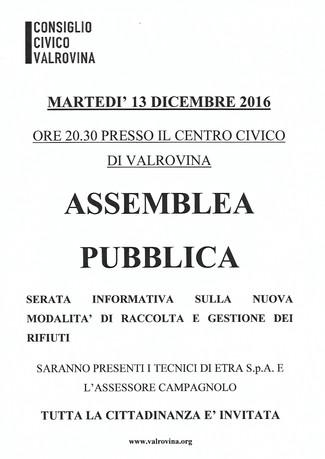 Assemblea pubblica 13.12