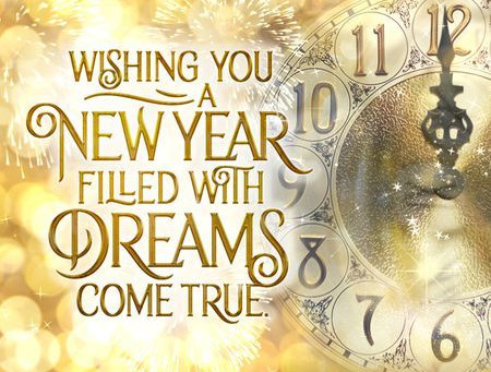 2021 is here! Happy New Year! Wishing every day of the new year to be filled with success, happiness