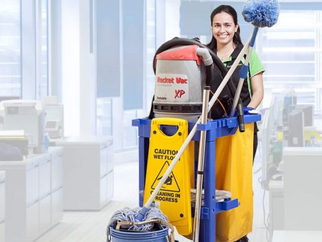 Professional cleaners were once 'the invisible worker' — but not anymore