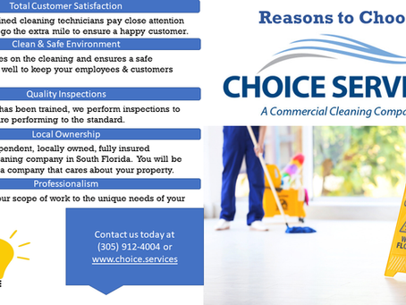 You made the right Choice with Choice Services