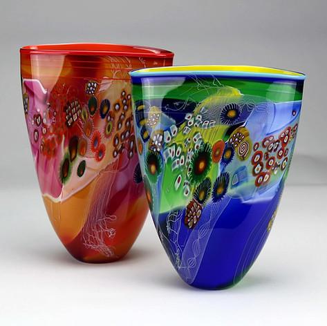 Colorfield Vases