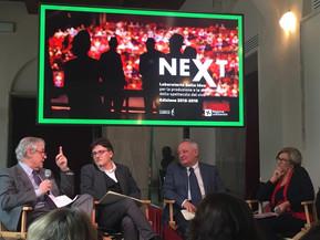 #NEXT: conferenza stampa