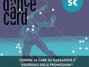 PROMO DANCE CARD SU DANZADOVE!