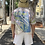 Thumbnail: GRAPHIC COTTON DRILL SHIRT - PASTEL