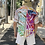 Thumbnail: GRAPHIC COTTON DRILL SHIRT - PLEATED BACK