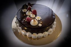Gateau crème glacée Vanille Chocolat des glaces d'Ophélie