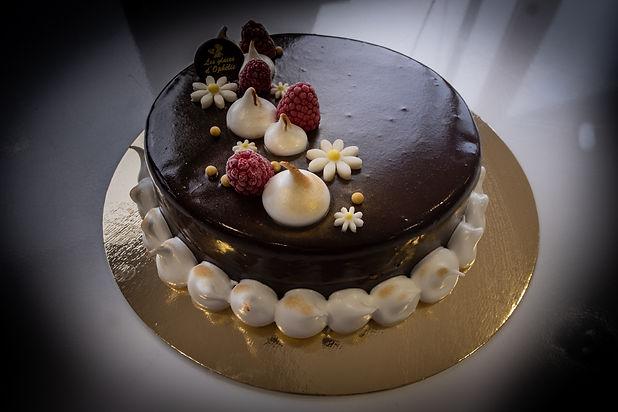 Gateau crème glacée Vanille Chocolat des
