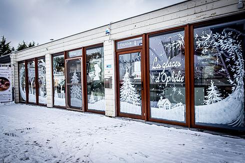 l'atelier de production des glaces d'Oph