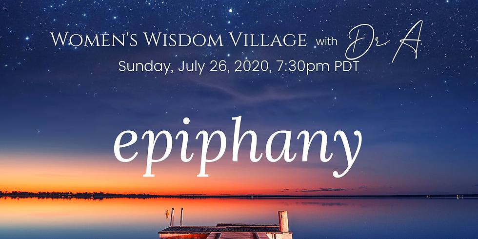 Women's Wisdom Village   Sun. 7/26