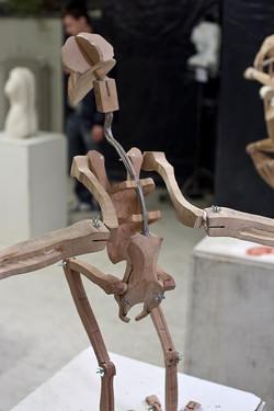 Kinetic Bird Skeleton