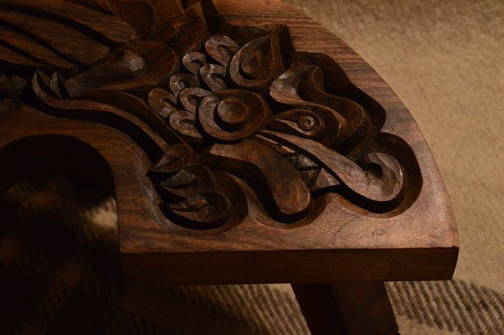 The Dragon Chair - Detail