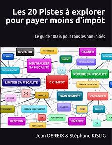 Le livre : Les 20 Pistes pour pas payer d'impôt