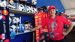 Stéphane KISLIG Boutique EURO 2016