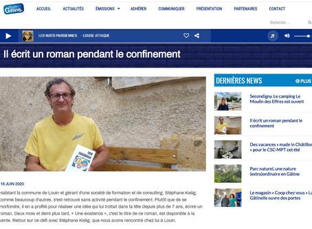 """L'interview de Stéphane Kislig pour le roman """"Une Existence"""""""
