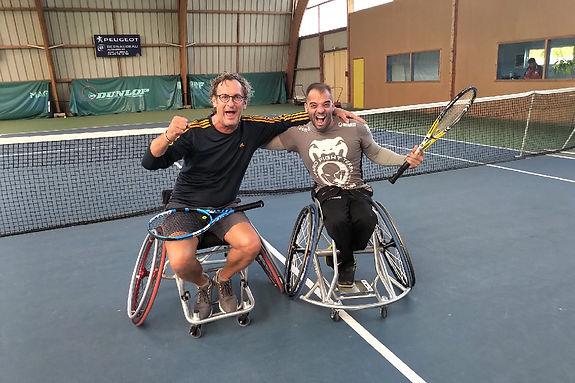 Stéphane KISLIG & Tennis Fauteuil