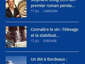 """Aquitaine Online invite """"Une Existence"""" le roman de Stéphane KISLIG en ligne"""