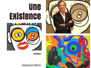 """""""Une Existence"""" le roman illustré de Stéphane KISLIG"""