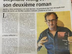 """Article de presse : """"Ombres à l'Est"""" de Stéphane KISLIG"""