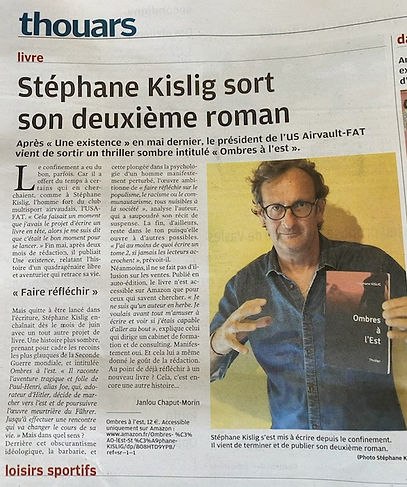 Stéphane KISLIG, son Thriller _Ombres à