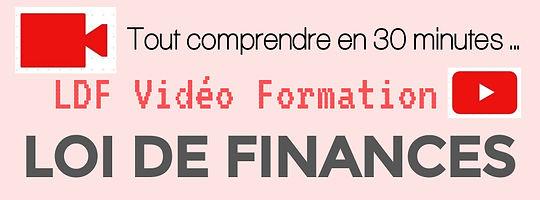 Video Formation Loi de Finances