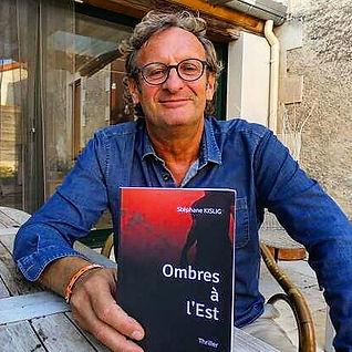 Stéphane KISLIG Auteur du Thriller Ombre