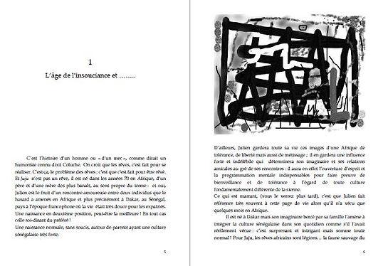 """Le livre & roman """"Une Existence"""" de Stéphane KISLIG"""
