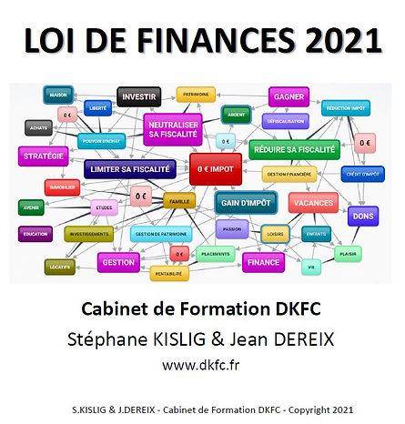 Bagage d'animation gratuit sur les nouveautés fiscales 2021 de la Loi de Fnances 2021 pour les particliers.