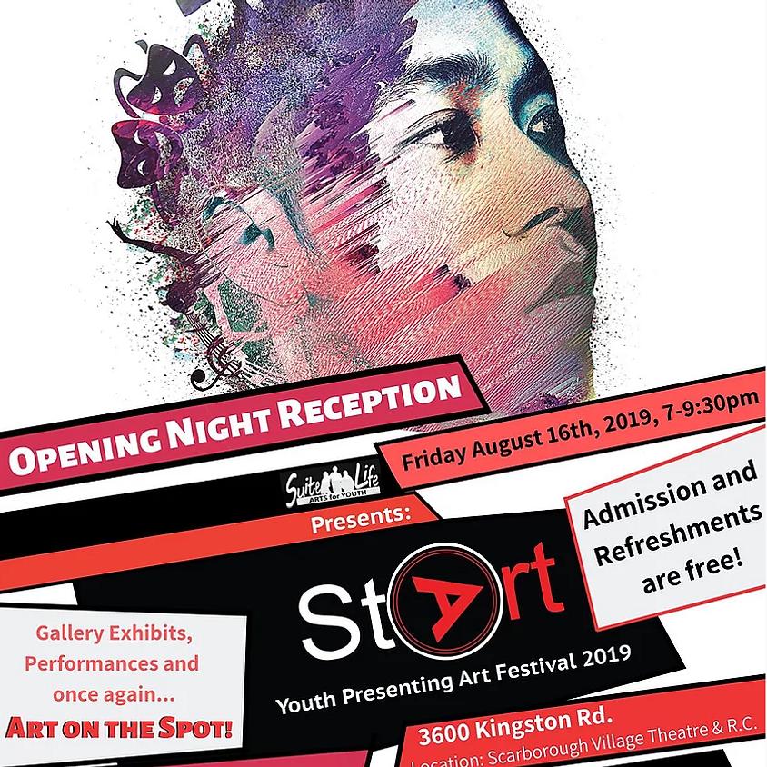 Opening Night Reception: StArt Youth Presenting Art