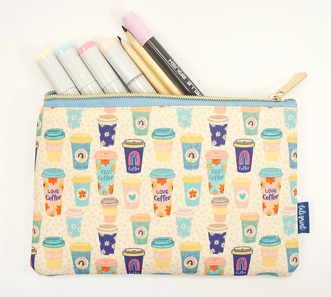 Coffee Pencil Pouch