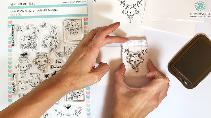Monkey Flipbook Kit