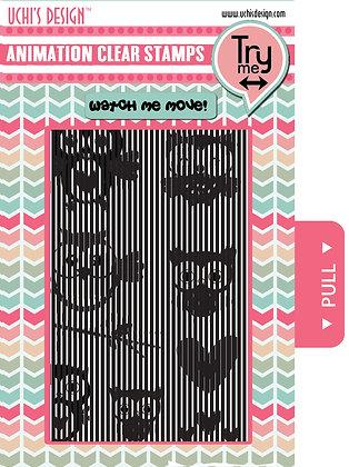 Animation Stamp Set - Owl