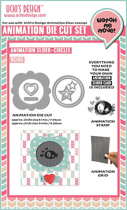 Animation Die Cut  Animation Slider  Circles DC105