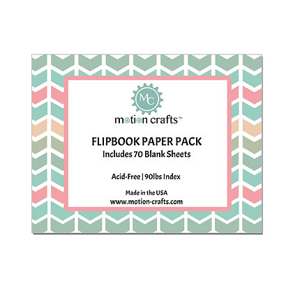 Flipbook Paper Pack - W